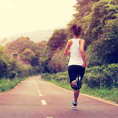 Pain points caused by bad running posture